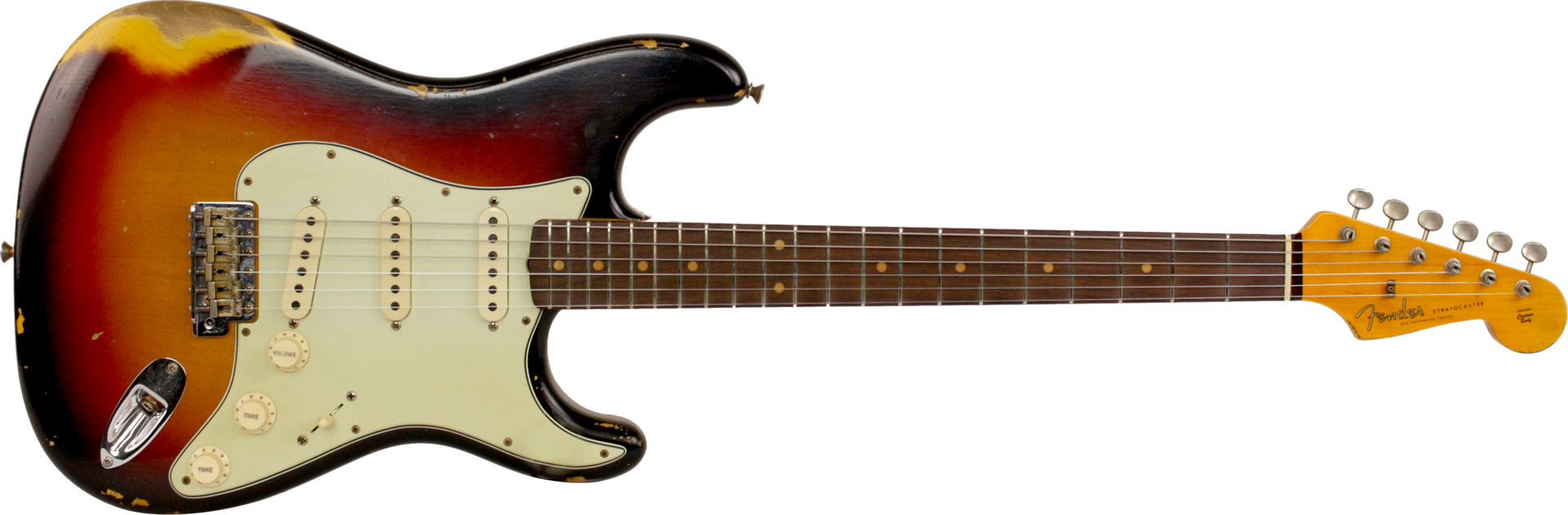 GUITARRA FENDER 59 STRATOCASTER TIME MACHINE HEAVY RELIC LTD EDITION 923-5000-821 AGED 3TSB