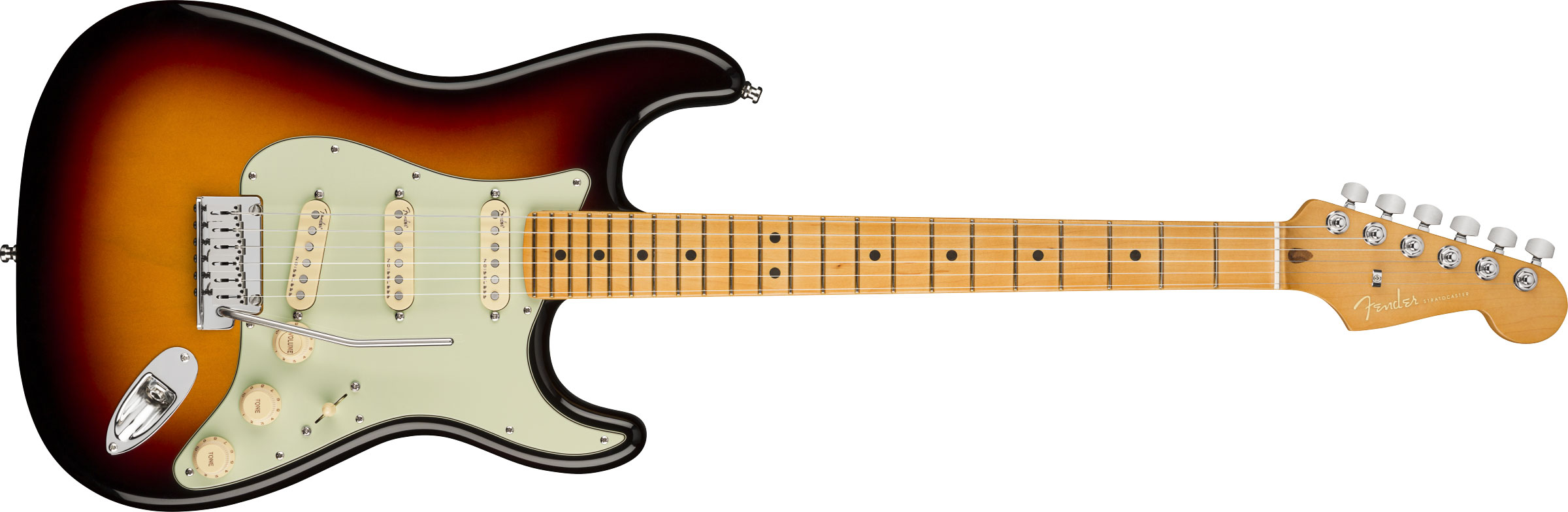 GUITARRA FENDER AM ULTRA STRATOCASTER MAPLE 011-8012-712 ULTRABURST