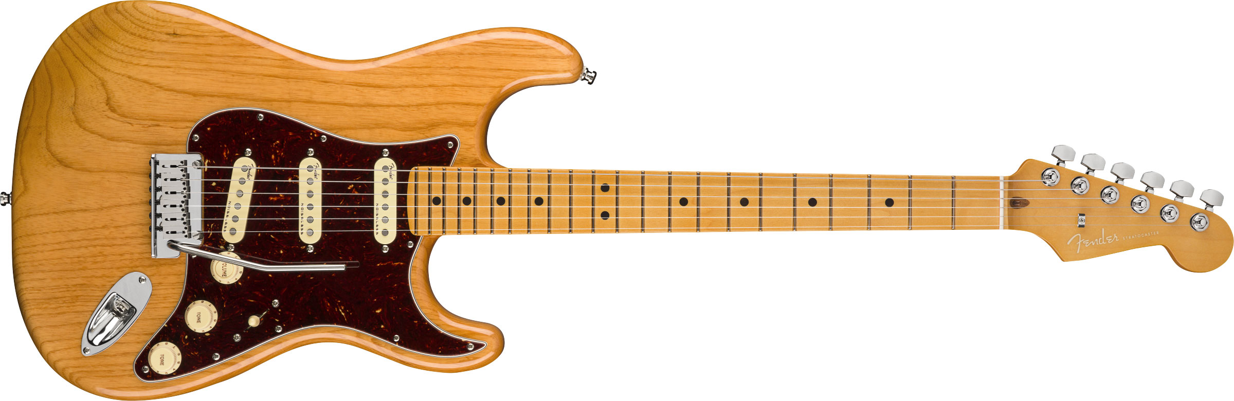 GUITARRA FENDER AM ULTRA STRATOCASTER MAPLE 011-8012-734 AGED NATURAL