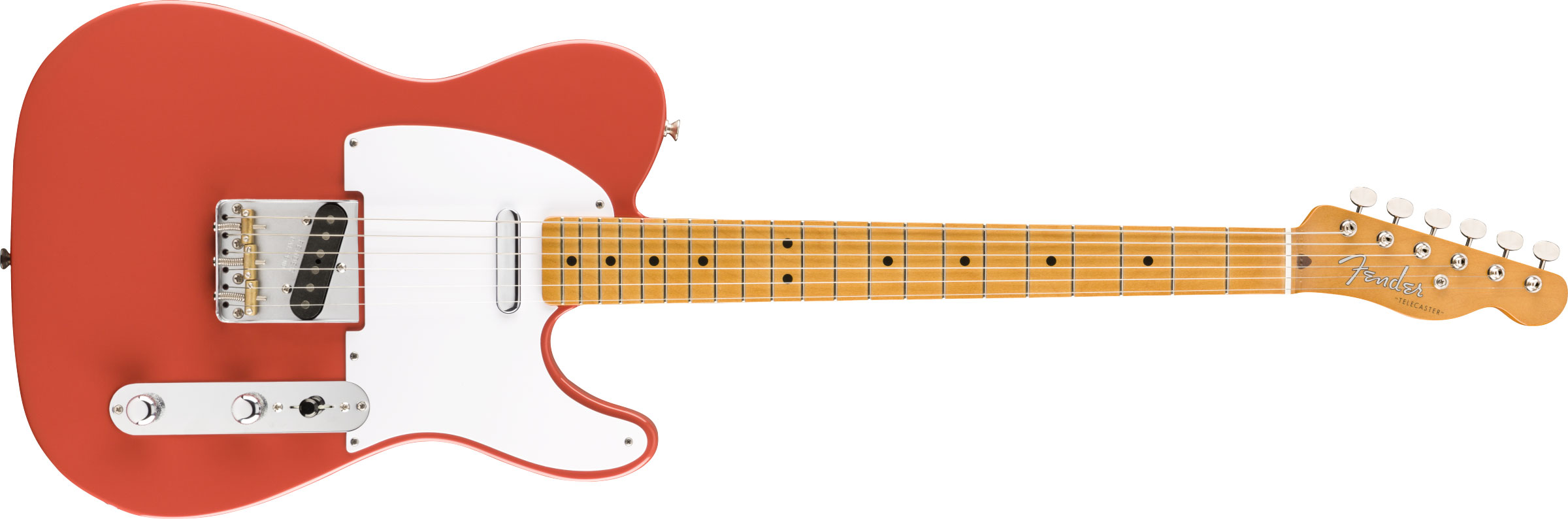 GUITARRA FENDER VINTERA 50S TELECASTER MAPLE 014-9852-340 FIESTA RED