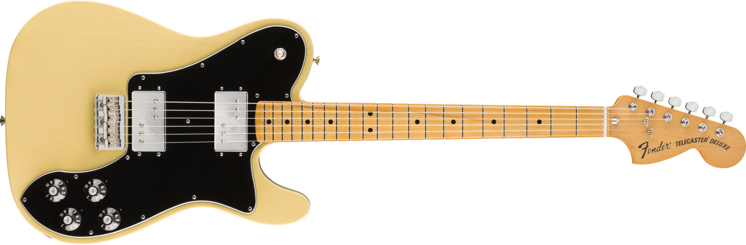 GUITARRA FENDER VINTERA 70S TELE DELUXE MAPLE 014-9812-307 VINTAGE BLONDE