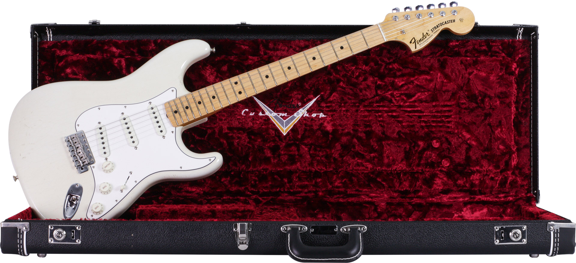 GUITARRA FENDER SIG SERIES JIMI HENDRIX IZABELLA LTD EDITION 150-8692-805 AGED OLYMPIC WHITE