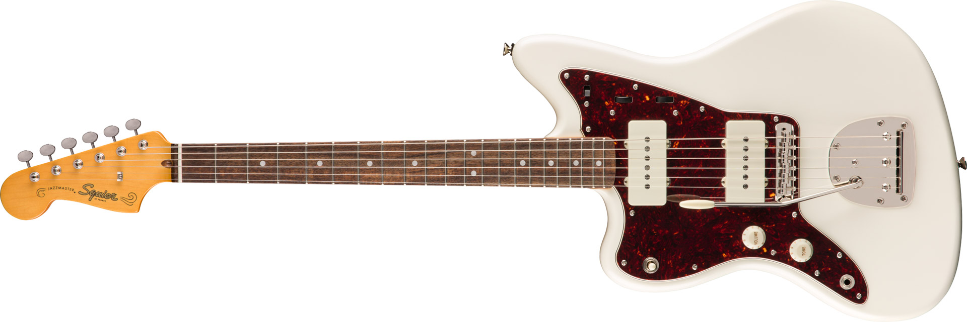 GUITARRA FENDER SQUIER CLASSIC VIBE 60S JAZZMASTER LH LR - 037-4085-505 - OLYMPIC WHITE