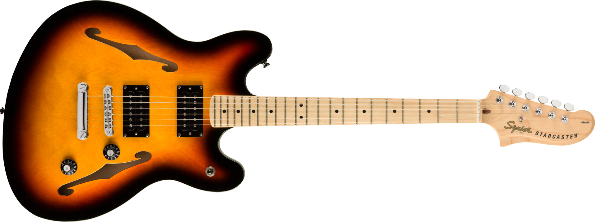 GUITARRA FENDER SQUIER AFFINITY STARCASTER MN - 037-0590-500 - 3-COLOR SUNBURST